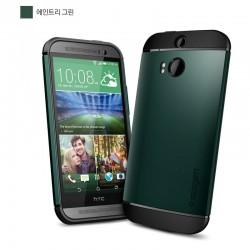Slim Armor Case voor HTC ONE (groen)