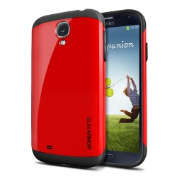 Slim Armor Case voor Samsung Galaxy S4 (rood)