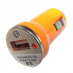 USB Auto Lader Oranje
