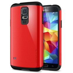 Slim Armor Case voor Samsung Galaxy S5 (rood)