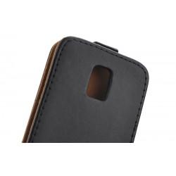 Galaxy S5 mini Lederen Flip Case