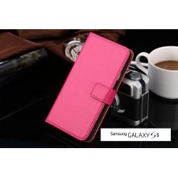 Lederen Retro Wallet Case Galaxy S5
