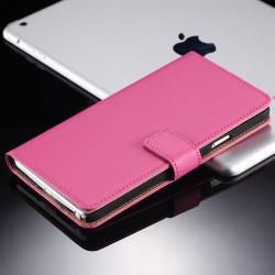 Lederen Retro Wallet Case Galaxy Note 4