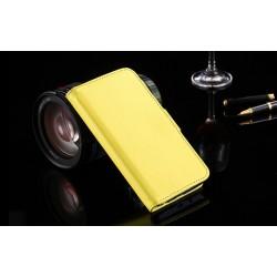 Lederen Retro Wallet Case Galaxy S6