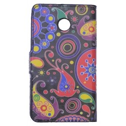 Flower Power Wallet Case Huawei Ascend